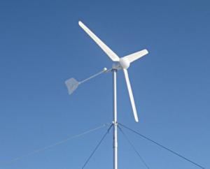 ветрогенератор с горизонтальной осью