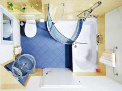 совмещать ванную и туалет